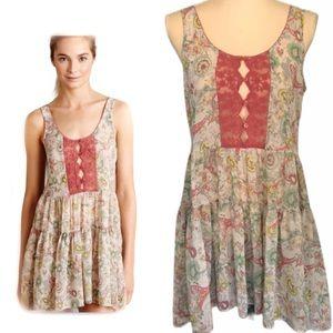 Anthropologie Fleur Wood Carina Dress